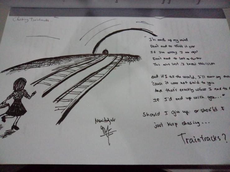 chasing train tracks